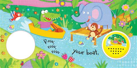Row Row Your Boat Author by Row Row Row Your Boat Book By Igloobooks Official