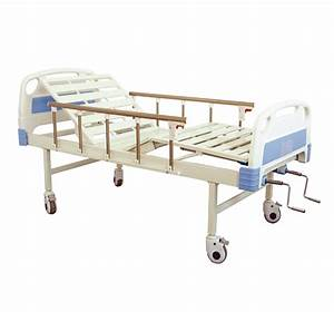 Manual Medical Adjustable Bed Two Crank