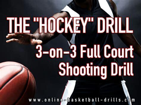 basketball drill hockey full court shooting drill