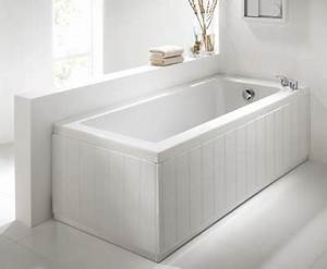 tongue and groove high gloss white 2 piece adjustable bath With plastic tongue and groove for bathrooms