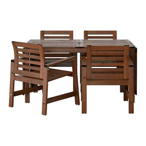 Ikea Table Et Chaise Exterieur by 196 Pplar 214 Table 4 Chaises Accoud Ext 233 Rieur Ikea