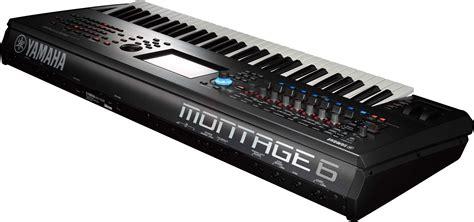 yamaha montage6 61 key flagship synthesizer