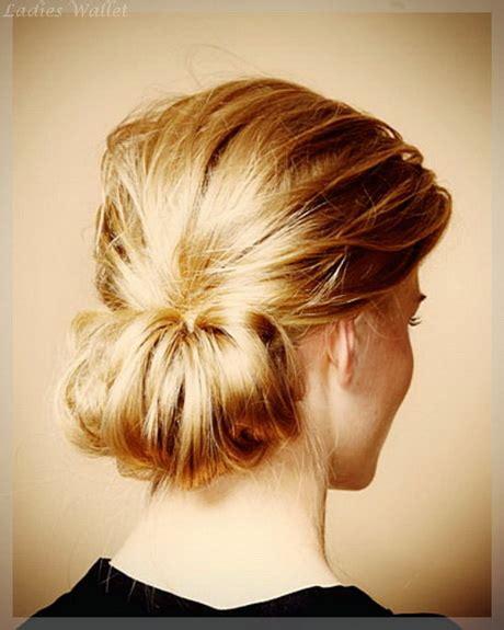 haare hochstecken schnell einfach lange haare einfach hochstecken