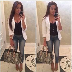 1000+ images about White blazer on Pinterest | Blazer ...