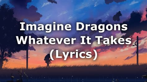 Whatever It Takes (lyrics) Chords