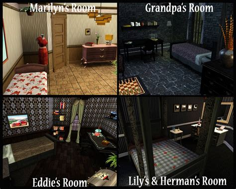 mod  sims halloween special   munsters house