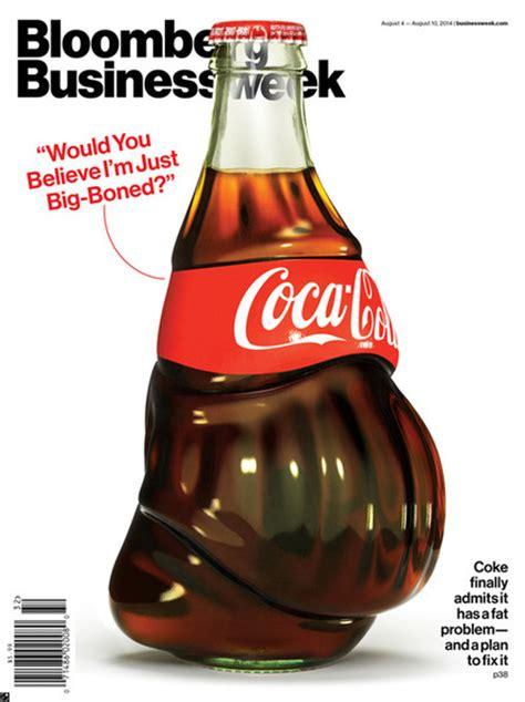 Coca Cola Fett by Fette Cola Flasche Als Cover Illustration Page