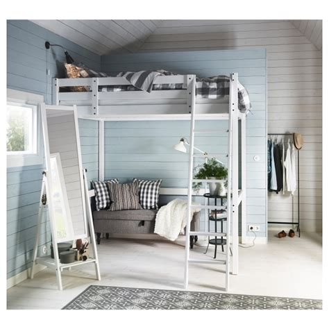 Ikea Stora Loft Bed by Stora Size Loft Bed Frame Ikea Bedding Sets