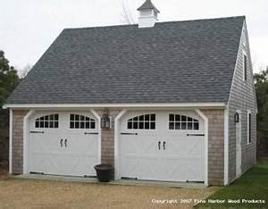 Estimating the cost of building a two car garage ehow for Carriage style garage doors cost