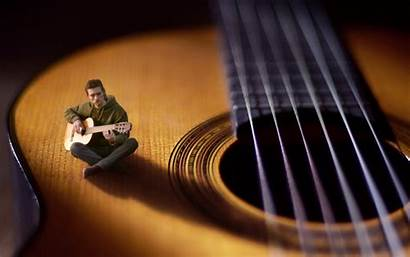 Miniature Surreal Miniatures Musician Guitar Producer Hoover