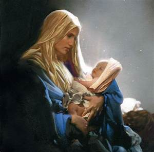 madonna and child with angels mark lancelot | madonna_and ...