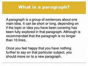 Writing talk paragraphs and short essays with readings