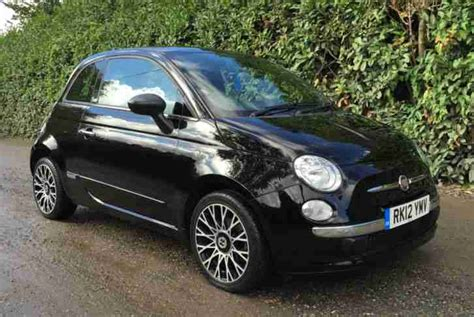 2012 Fiat For Sale by Fiat 500 2012 By Gucci 900cc Turbo Black 163 1 Start Car For