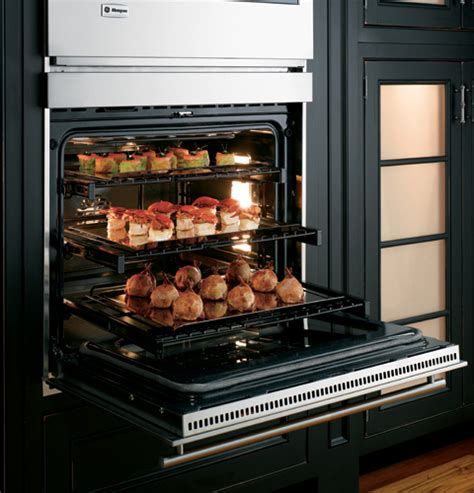 zetslss ge monogram  built  electronic convection double wall oven monogram appliances