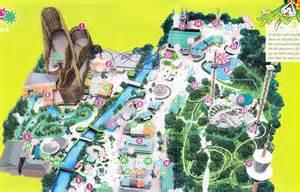 Liseberg - 2006 Park Map