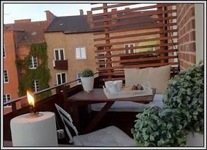 kleinen balkon modern gestalten balkon house und dekor With markise balkon mit my home tapeten