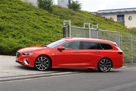 Opel Wagon by Spyshots 2018 Opel Insignia Gsi Wagon Drops Disguise