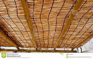 Le Bambou Aveugle Le Plafond Photo Stock Image 67353554