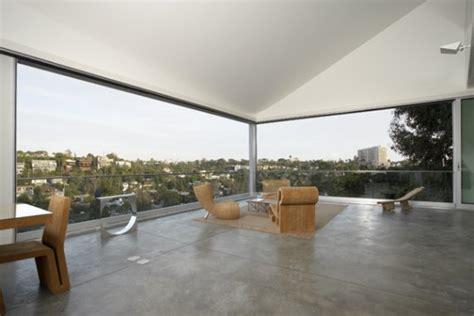 modern hillside home design  johnston marklee architects overlooking santa monica canyon