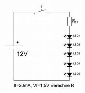 Led Widerstand Berechnen Formel : leuchtdiode led funktionsweise und berechnung rdt wohnmobil forum seite 1 ~ Themetempest.com Abrechnung