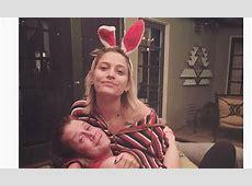 Paris Jackson wears cute bunny ears with Macaulay Culkin