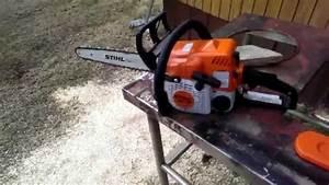 Stihl Ms 170 Avis : stihl ms170 chainsaw youtube ~ Dailycaller-alerts.com Idées de Décoration