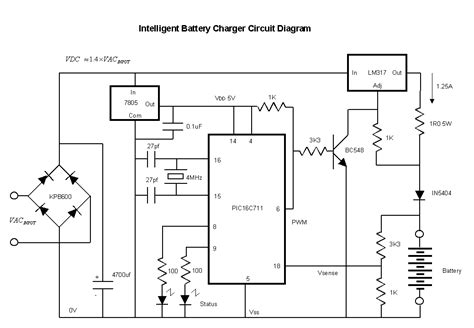 Intelligent Nicd Nimh Battery Charger