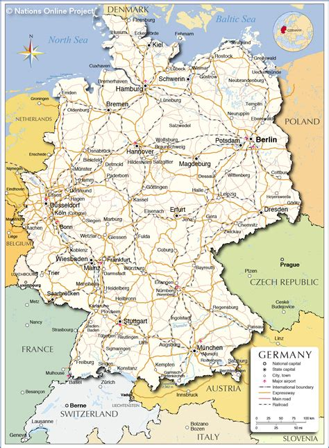 map  germany showing cologne afp cv