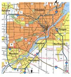 City Map Toledo Ohio