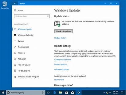 Windows Update Updates Security Microsoft Version Upgrade