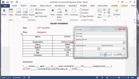 create word template with fillable fields how to add text form fields in word 2010 word content controlsinsert fields wordshow field