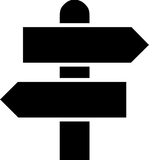 Reload to refresh your session. Road Sign Direction Way Svg Png Icon Free Download ...