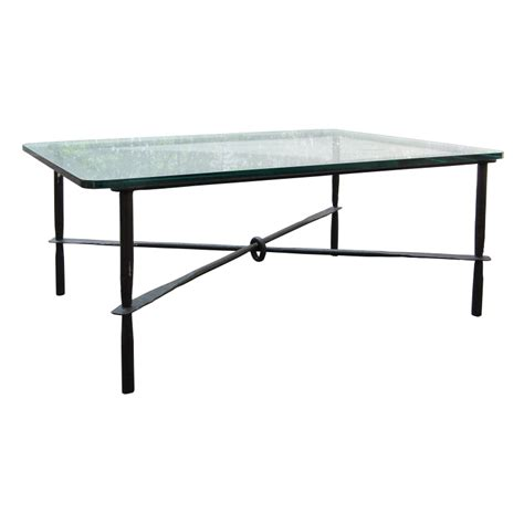 glass and iron table iron and glass coffee table