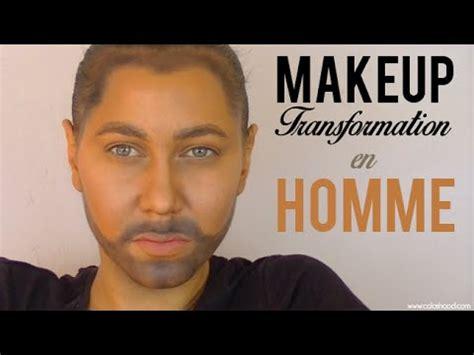 Maquillage Homme Transformation Maquillage Femme En Homme Colashood2