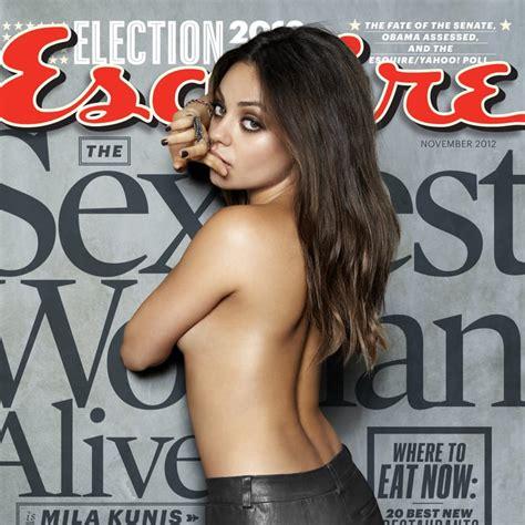 Mila Kunis Is Esquires Sexiest Woman Alive Popsugar Celebrity