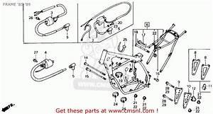 Honda Cr125r 1986  G  Usa Frame  U0026 39 85- U0026 39 89