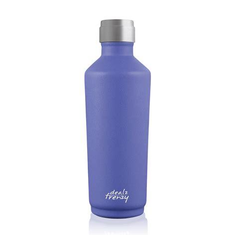 Insulated Water Bottle 17oz, Stainless Steel Wine Bottle ...