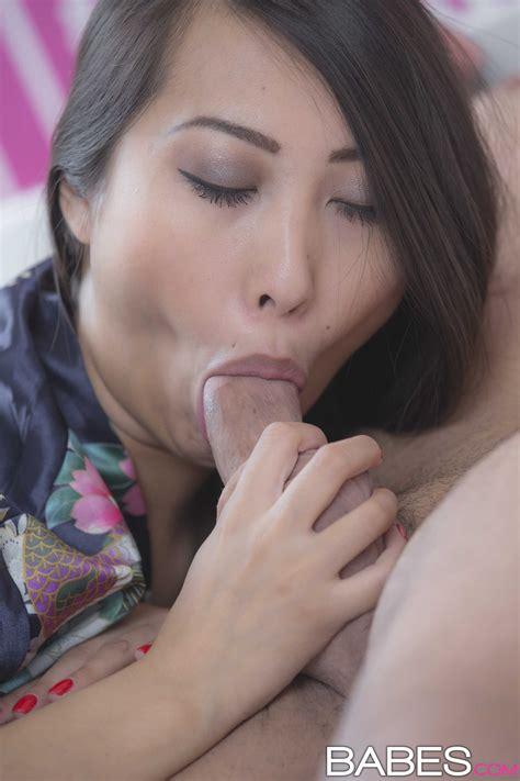 Asian Brunette Likes To Suck Hard Cock Photos Sharon Lee