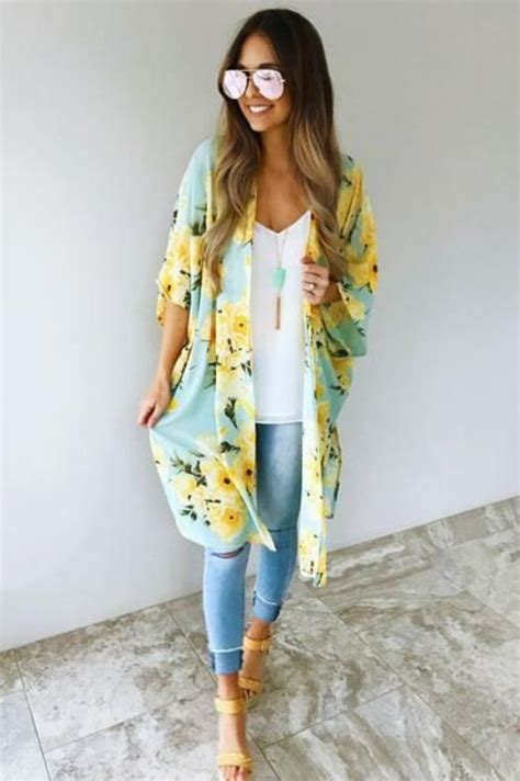 How to style your kimono cardigan u2013 Just Trendy Girls