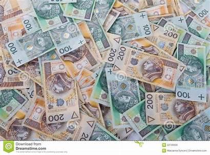 Polish Money Notes Royalty Pile Dreamstime