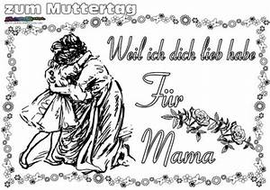 Muttertag Ausmalbild Malvorlage Gru Mit Herz BabyDuda