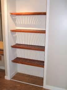 Wood Shelves for Linen Closet
