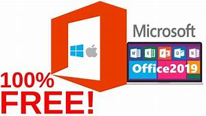 How To Install Microsoft Office 2019 On Mac 100  Free