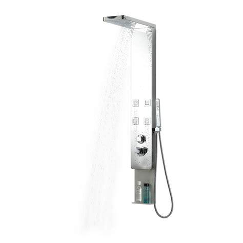 Shower Jet System by Vigo 6 Jet Shower Panel System In Stainless Steel Vg08005