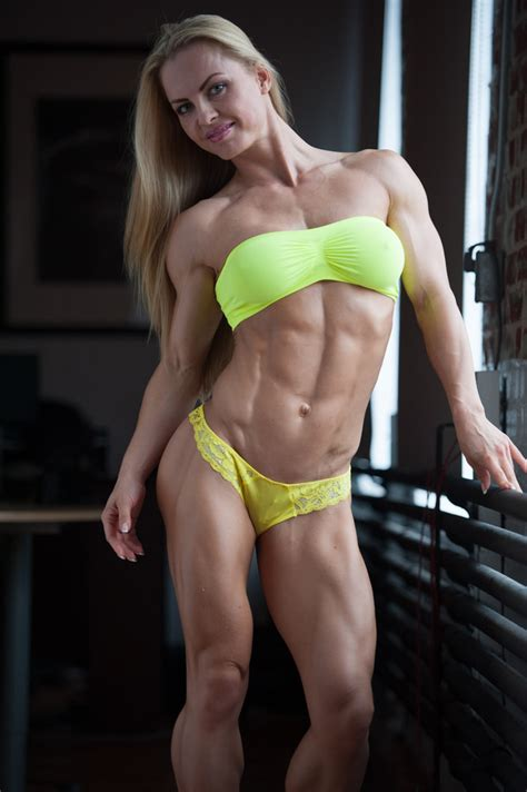 eleonora dobrinina in her own words and shredded femalemuscle female bodybuilding and