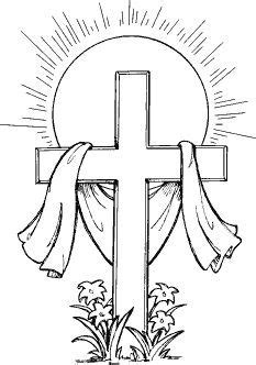 easter cross clipart black and white easter cross clipart black and white easter day