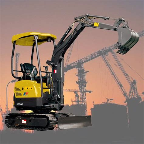 brand  garden hydraulic tractor excavator  sale factory china  liteng machinery