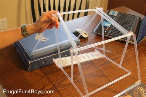 Engineering For Kids Build A Bridge With Straws And