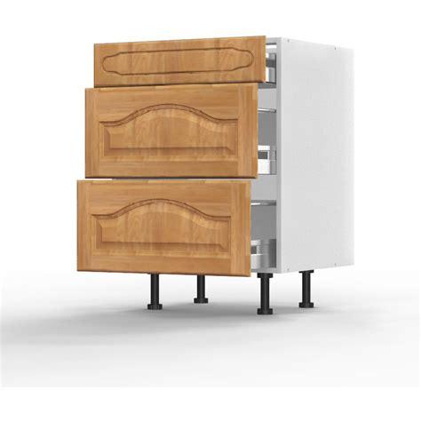 meuble bas cuisine 80 cm meuble bas chêtre l60xh71 5xp56 124 267 cuisine