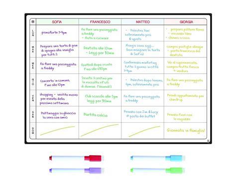 Come Organizzare Le Pulizie Di Casa Giornaliere by Calendario Della Famiglia Come Organizzarsi Al Meglio